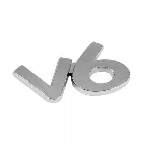 Хром емблема – V6