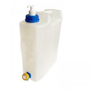 Туба за вода 10 литра със сапунерка