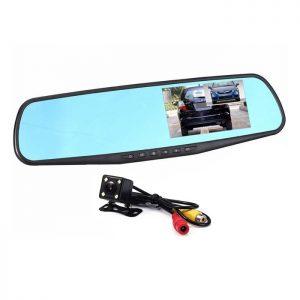 Видеорегистратор в огледало + камера