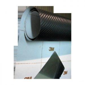 Фолио карбон черно лукс 3М 1.52м х 30м