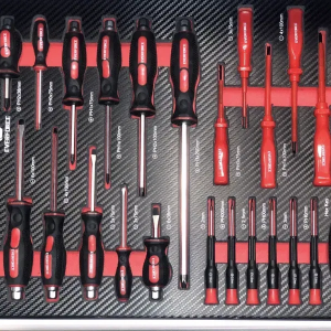 Kоличка за инструменти, шкаф за инструменти 154 части 6 чекмеджета EverForce