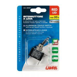 Бутон превключвател LED 12/24V