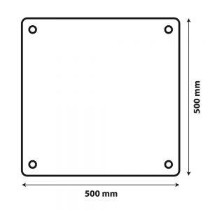 Метална табела за извънгабаритен товар