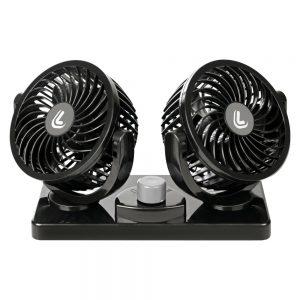 Двоен вентилатор с две скорости -24V