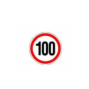 СТИКЕР 100 KM/H