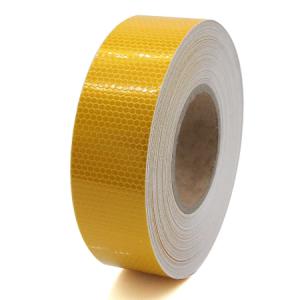 Светлоотразително тиксо- жълто