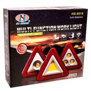 Авариен светещ LED триъгълник- 20см