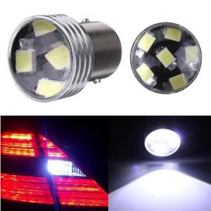 24V LED диодни крушки с лупа ВА15S
