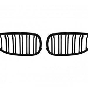 Бъбреци с двойни ребра черен мат за BMW серия 5 E60, E61 2004-2009