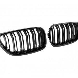 Бъбреци с двойни ребра тип M2 черен лак за BMW серия 2 F22/F23 след 2013 година