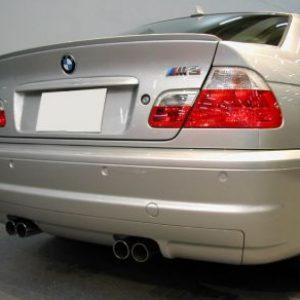 Лип спойлер за BMW серия 3 Е46 2 врати 1999-2006