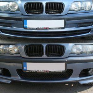 Предна M technik броня за BMW серия 3 E46 седан/комби 1998-2005 без халогени