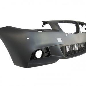 Предна M technik броня за BMW серия 5 F10 седан, F11 комби 2013-2017 с PDC, с пръскалки, без халогени