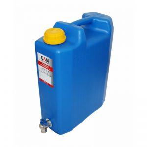 Туба за вода 10 литра с метално кранче