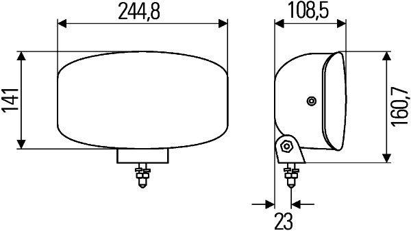 Халоген – H7+LED 12/24V